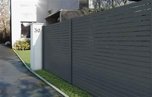 Prix Mur Parpaing Cloture : prix d 39 une cl ture en aluminium ~ Dailycaller-alerts.com Idées de Décoration