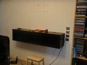 Fixer Tv Au Mur Sans Voir Les Fils : meuble tv a fixer au mur maison et mobilier d 39 int rieur ~ Preciouscoupons.com Idées de Décoration
