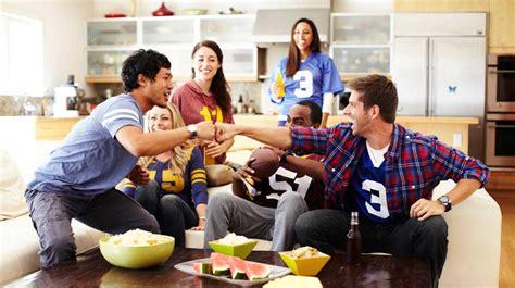 Super Bowl Party 101 Basement Road Show