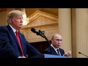 Trump's approval rating rises after Putin summit - YouTube