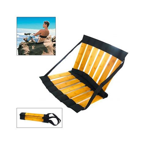 siege de plage pliable siège de plage pliant bambou à 18 95