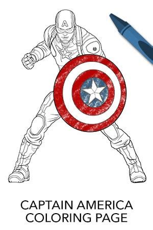 avengers captain america coloring page disney movies
