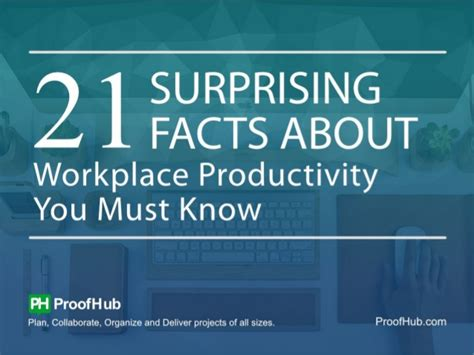 surprising facts  workplace productivity