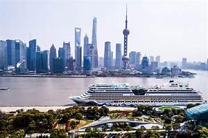 Erstanlauf Von AIDAbella In Chinas Megametropole Shanghai