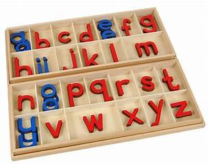montessori alphabetical set for your child to introduce With movable alphabet letters