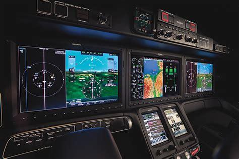 hondajet avionics garmin  skies mag