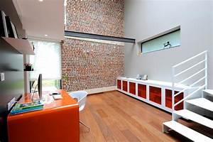 Bureau Contemporain Design : deco bureau design contemporain design en image ~ Teatrodelosmanantiales.com Idées de Décoration