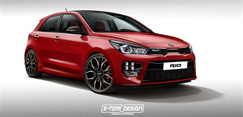 kia rio gt rendering transforms  hatch  pocket