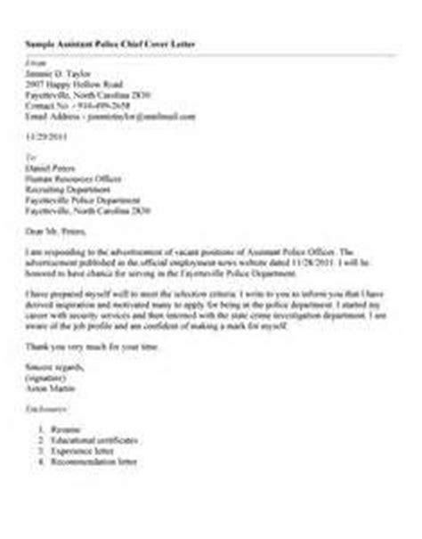department chief cover letter chief resume cover letter letter of recommendation