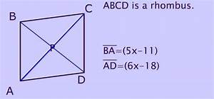 Rhombus  Its Properties  Shape  Diagonals  Sides And Area