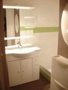 Relooking Salle De Bain Avant Apres : relooking salle de bain 3 photos nabla35 ~ Zukunftsfamilie.com Idées de Décoration
