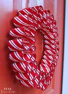 December 7: Ribbon Candy Wreath