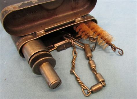- German Wwii Issue Rifle Cleaning Kit Cnx Code House Of Antique Hardware Doorbell Myers Antiques Fine Art St Petersburg Fl Full Size Iron Bed Frame Plumbing Parts California Bar Cart Gold Childs Rocking Chair Uk Fire Extinguishers Australia Country And Uniques Berlin Center