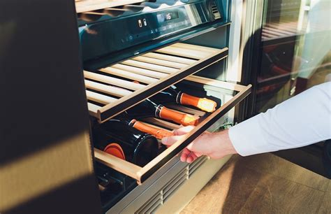 Best Cabinet Wine Cooler by Top 8 Best Counter Built In Wine Coolers In 2019