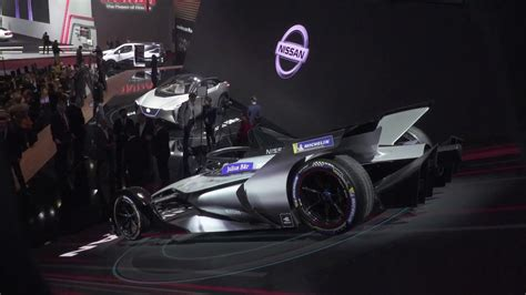 Nissan Presented The Formule E At The 2018 Geneva