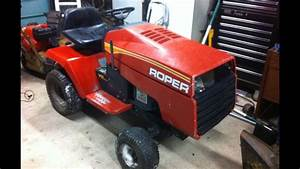 Roper Racing Tractor  16 Hp Ic Opposed Twin