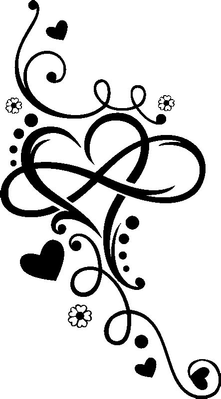 Heart Infinity Tattoo Henna T-shirt Arabesque Motif - Strength And Resilience Symbol Tattoo