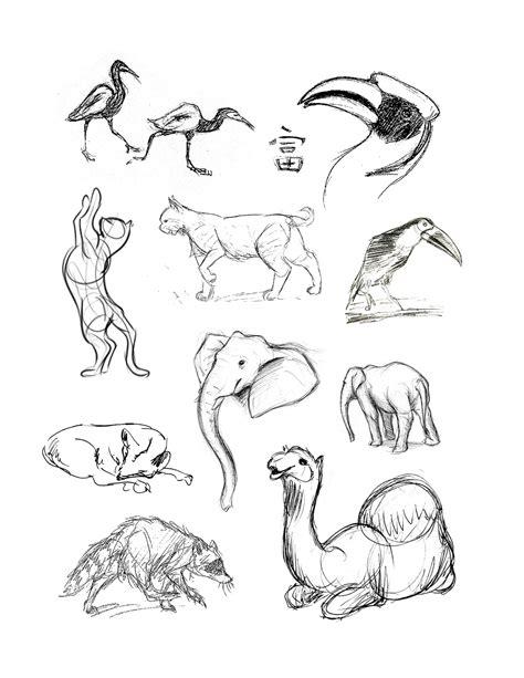 louies place animal drawings
