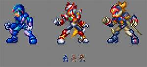 MMZ Original X, Zero, and Axl in UMX / MMX9 style. by ...
