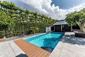 Modern garden swimming pools pools for home for Modern pool in garden