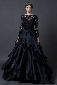 black wedding dresses pictures details wedding in the With wedding dresses black