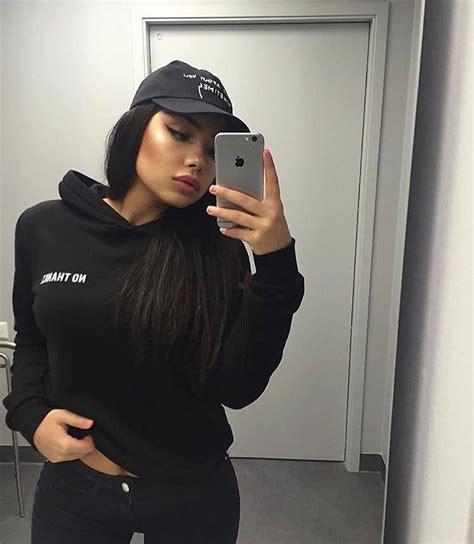 pinterest  kitkatlovekesha pin fashion black