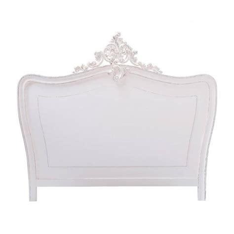 tete de lit blanche  comtesse maisons du monde