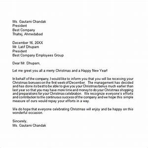 19 Christmas Letter Templates Download Free Documents