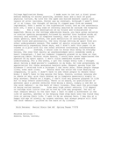 15049 college application essay heading proper heading for college admissions essay