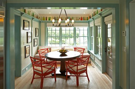 idea cottage   hamptons traditional dining room  york  historical concepts