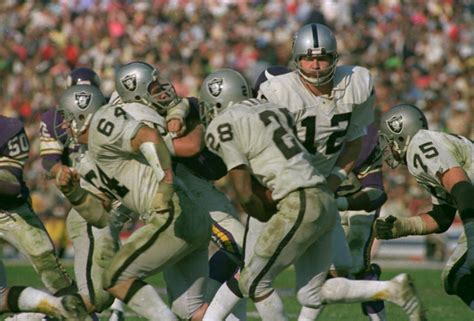 super bowl xi raiders  nfls bad guys batter vikings
