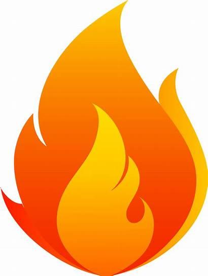 Fire Flame Flames Transparent Clipart Flowing Clip