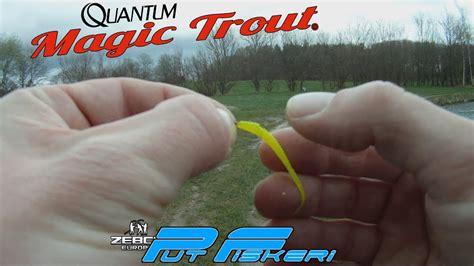 Magic Quantum 242 magic trout wormtail test sept 2014