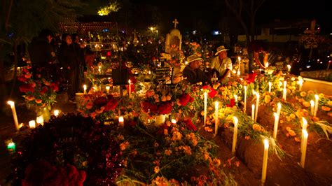 Mexico's Day of the Dead in Oaxaca in Mexico, Central ...