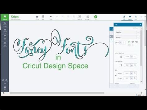cricut design space best 25 fancy fonts ideas on free fonts