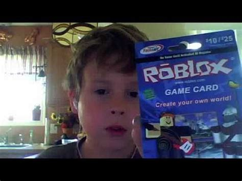 roblox game card youtube