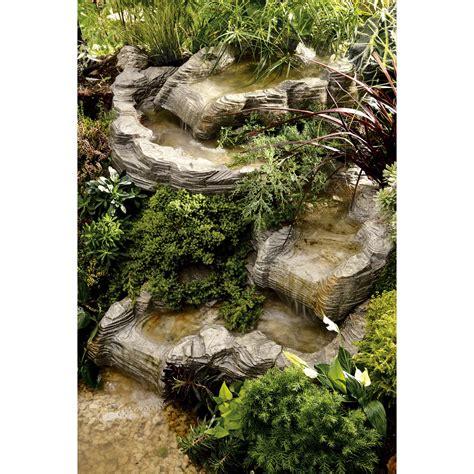 cascade pour bassin exterieur cascade pour bassin ubbink colorado haut l 0 58 x l 0 78 m x p 20 cm leroy merlin