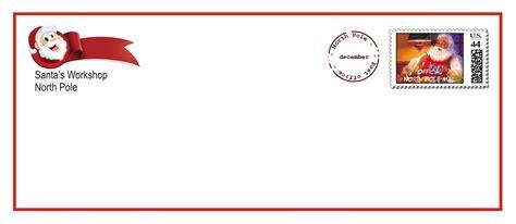 printable santa envelopes   printable