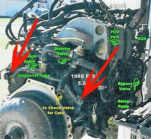 Diagram For A Ford F 250 5 8 Engine