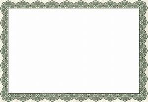 free printable certificate borders With borders for certificates templates