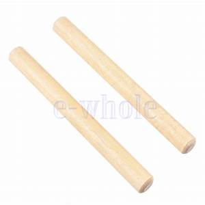 1 Pair Children Wooden Musical Instrument Percussion