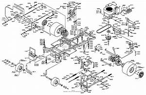 Dixon Ztr 5424  1998  Parts Diagram For Chassis