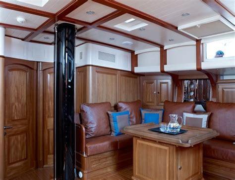 tempus fugit superyacht saloon yacht charter