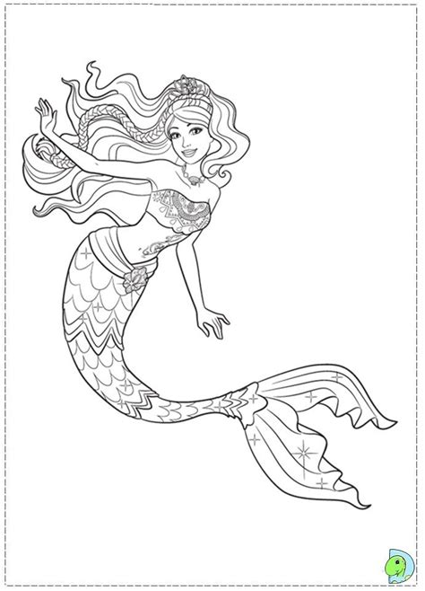 Coloring Mermaid by Realistic Mermaid Coloring Pages And Print For