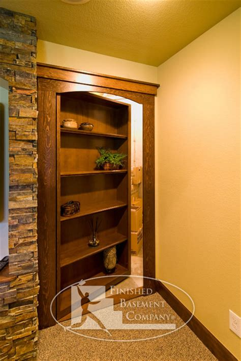 basement hidden storage traditional basement denver  finished basement company