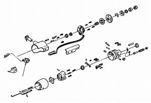 Corvette Pivot  Turn Signal  Dimmer Switch  1984
