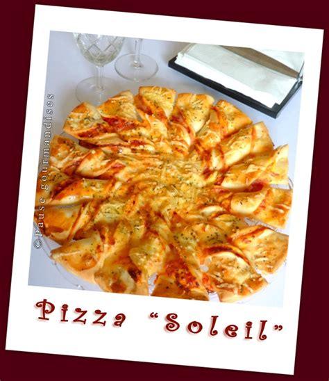 pizza soleil pause gourmandises