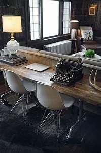 Schreibtisch Im Wohnzimmer Integrieren : salon salle manger 7 id es de bureaux habitatpresto ~ Bigdaddyawards.com Haus und Dekorationen