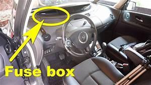 Renault Espace Iv - Dashboard Fuse Box