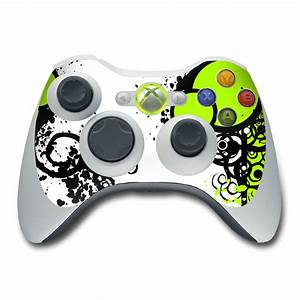 Xbox 360 Controller Skin Simply Green By Gaming DecalGirl